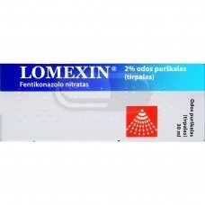LOMEXIN 2% odos purškalas (tirpalas)