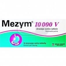 Mezym 10000 V skrandyje neirios tabletės N10