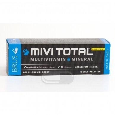 MiviTotal šnypščiosios tabletės N15