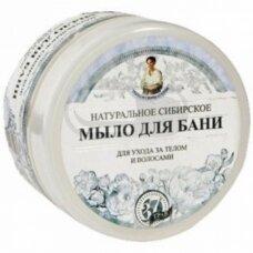 Natūralus baltas Sibiro muilas pirčiai kūnui ir plaukams 500 ml