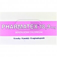 PHARMATEX 18.9MG OVULĖS N10