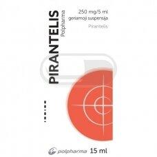 PIRANTELIS 250 mg/5 ml geriamoji suspensija 15ml