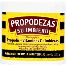 Propodezas® su imbieru tabletės, N50