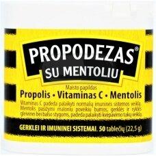 Propodezas® su mentoliu, tabletės N50