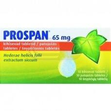 Prospan 65 mg šnypščiosios tabletės N10