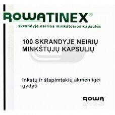 ROWATINEX skrandyje neirios minkštosios kapsulės N100