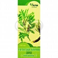 Saldymedžio šaknų sirupas su vit. C FarmGrupp 100ml