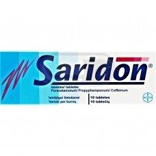 Saridon tabletės N10