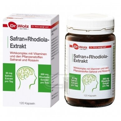 DR.WOLZ Safran+Rhodiola-Extrakt N120