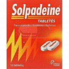 Solpadeine tabletės N12