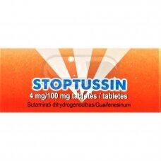 Stoptussin 4 mg/100 mg tabletės N20