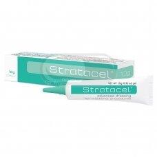Stratacel ® - Pažangus tvarstis po procedūrų su daliniu odos pažeidimu 10g