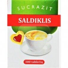 SUCRAZIT saldiklis, 300 tablečių