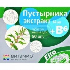 Sukatžolių ekstrakatas +B6 Nr 50