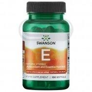 SWANSON Vitaminas E natūralus  N100