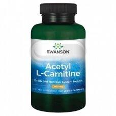 SWANSON Acetyl L-karnitinas N100