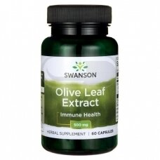 SWANSON Alyvuogių lapų ekstraktas N60