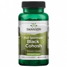 SWANSON Black Cohosh N60