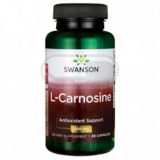 SWANSON Karnozinas 500 mg N60