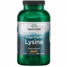 SWANSON L-Lizinas 500 mg N100