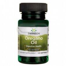 SWANSON Raudonėlio (oregano) aliejaus ekstraktas N120