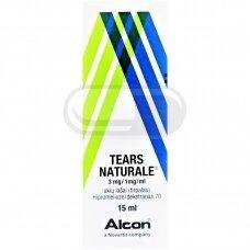 TEARS NATURALE 3 mg/1 mg/ml akių lašai (tirpalas)