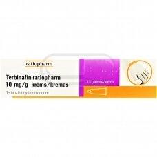 Terbinafin-ratiopharm 10 mg/g kremas 15g