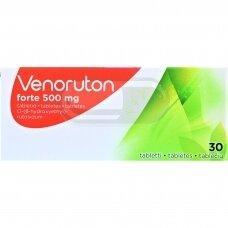 Venoruton forte 500 mg tabletės N30