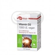 DR.WOLZ Vitamin D2 1000 I.E. vegan N60