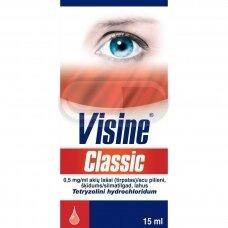 Visine Classic 0,5 mg/ml akių lašai 15ml