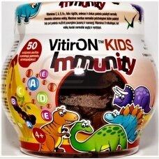VITIRON KIDS IMMUNITY, 50 guminukų vaikams